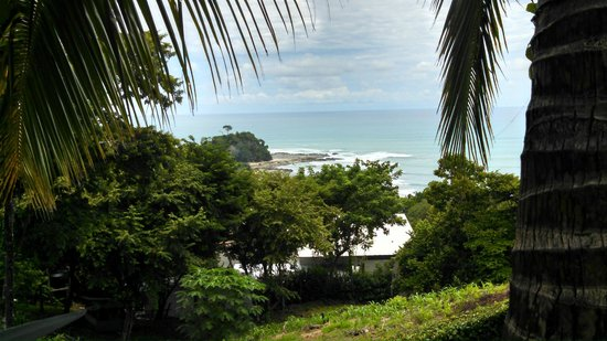Hotel Vista de Olas: View looking south from outside our villa