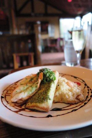 Clinkerdagger : Seafood dish