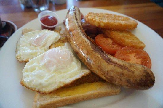 Whale Watch: Breakfast in the cafe