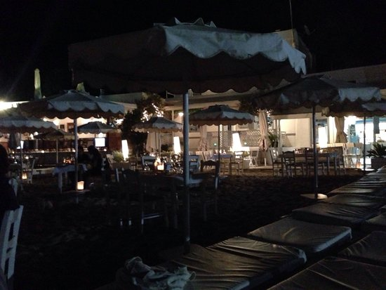 Mare Mare Restaurant: You're really on the beach!