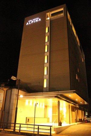 Spa Hotel Alpina Hidatakayama: Fachada