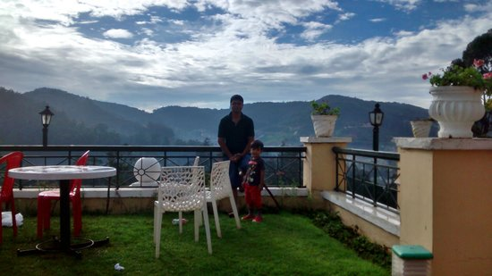 Gem Park-Ooty: Sit out area