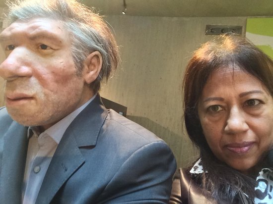 Neanderthal Museum : 'The Man' as he would have looked today