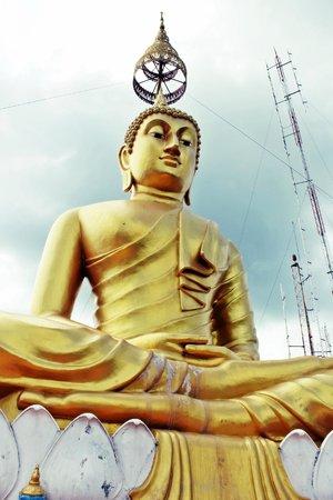 Tiger Cave Temple (Wat Tham Suea) : Buddha Statue