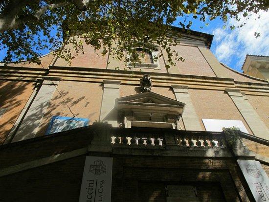 Santa Maria della Conceziones Cappuccini : Santa Maria della Concezione of the Capuchins, exterior