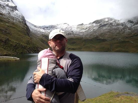 Grindelwald, Suíça: lake Bachalpsee