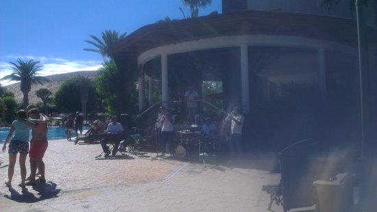 Melia Fuerteventura: nice hotel (but food choice is repeatative)