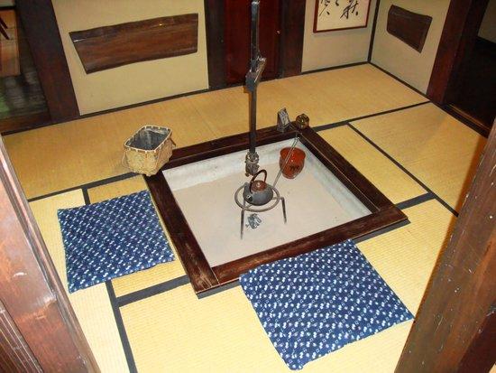 Yumoto Choza: Open Fire Place Room