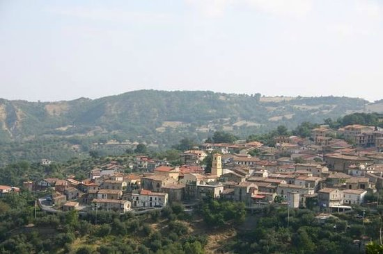 Panorama di Cersosimo...