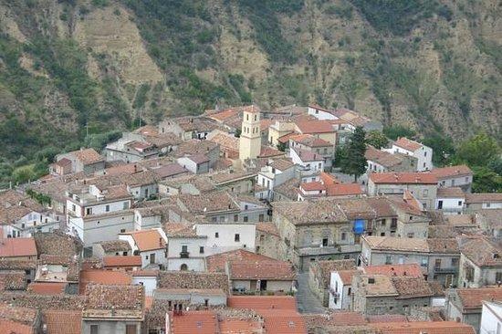 Cersosimo, Włochy: Panorama dall'alto...