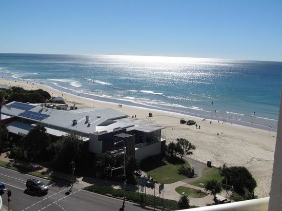 Coolum Caprice Luxury Holiday Apartments: View from balcony of accessible 2 bedroom apartment
