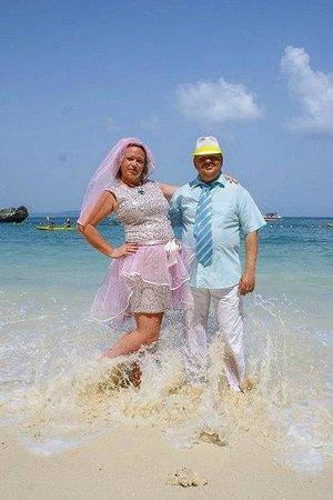 PhraNang Cave Beach: Серебряная свадьба.