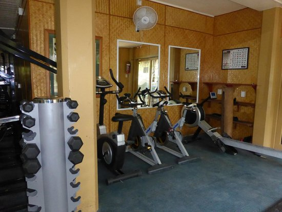 Sanctuary Rarotonga-on the beach: The Gym