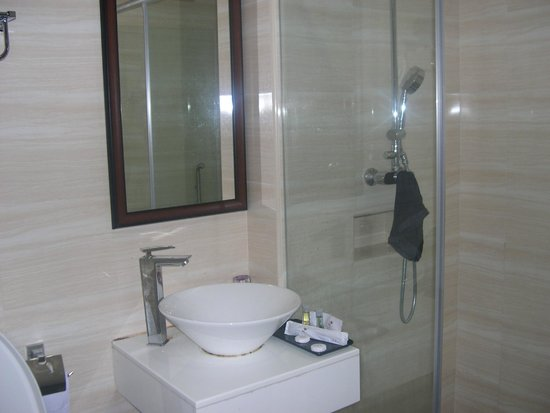 Grand Hallmark Hotel: bagno