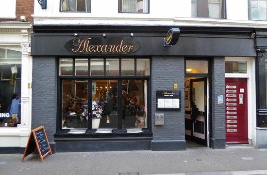 Restaurant Alexander: Eingang