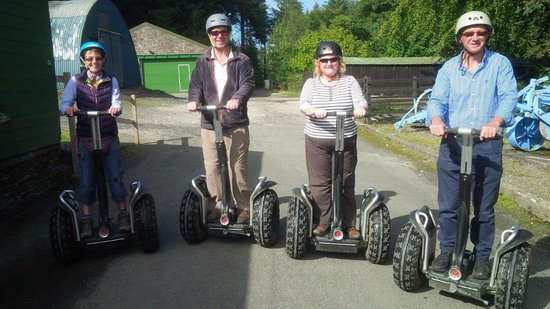 Segway Isle of Man: Happy faces following the Segway Tour, South Barrule