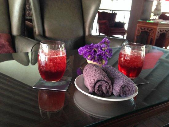 Le Meridien Koh Samui Resort & Spa: Welcome drink at check in
