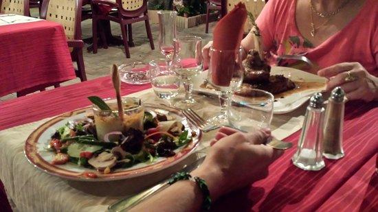 Nos plats - au vieux figuier