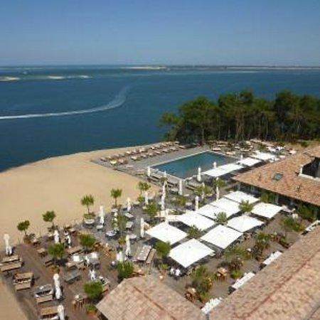 Vue terrasse foto di restaurant la co o rniche pyla sur mer tripadvisor - Restaurant la corniche a arcachon ...