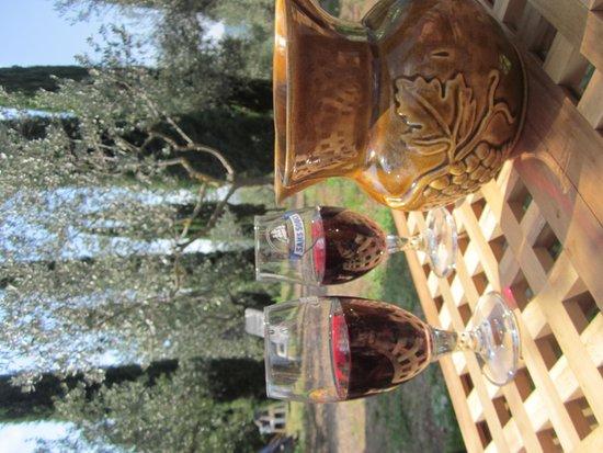 Campeggio Belmondo Montepulciano: Selfmade Belmondo Wine