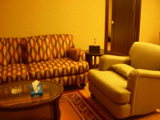 Rembrandt Towers Serviced Apartments: living room
