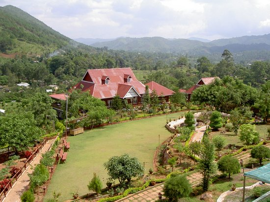 Hill Top Villa Resort Kalaw : dining hall