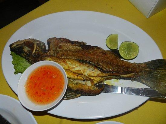 Thai Mom: рыбка на гриле