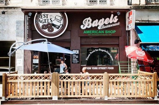 Photo of American Restaurant Best Bagels Lyon Ampère at 14 Rue D Auvergne, Lyon 69002, France