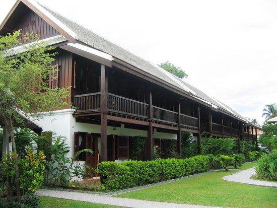 Sanctuary Luang Prabang Hotel : One building