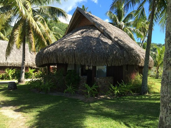 Manava Beach Resort & Spa - Moorea : Bungalow jardin