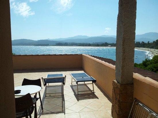 Hotel Club Saraceno : La terrazza della camera