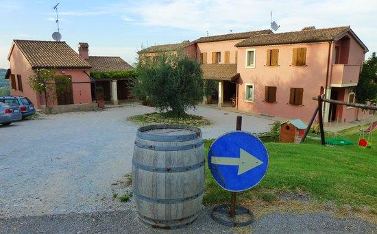 Villa Venti: La corte d'ingresso