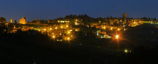 Villa Venti: Paesaggio notturno