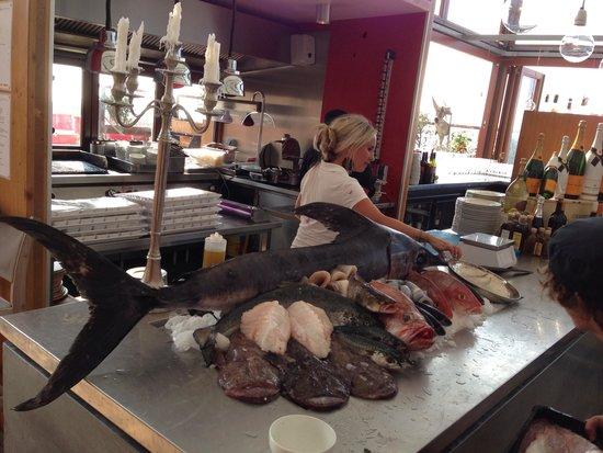 Beach Club Bries: Fishmarket