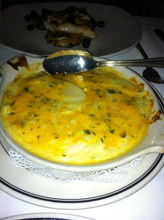 Oceanaire Seafood Room : au gratin potatoes