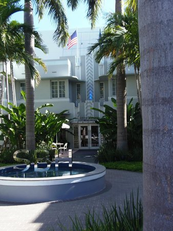 SBH South Beach Hotel : Main entrance