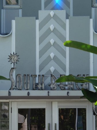 SBH South Beach Hotel: Detail Main Entrance