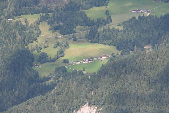 Bergbauernhof Irxner: Hotel aus der Ferne