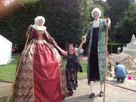 Schloss Benrath: Вот такой вот праздник барокко!