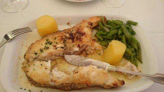 Restaurante Sagres Cascais: Rock bass
