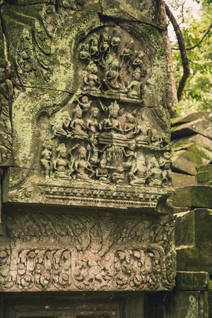 Siem Reap Private Day Tours: Carvings