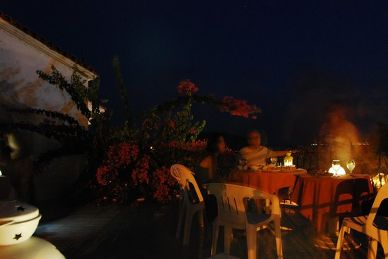 Lale Pension : View from the terrace in the night