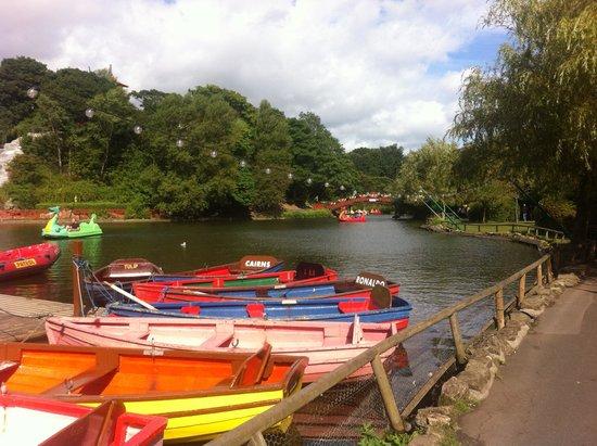 Peasholm Park: August 2014