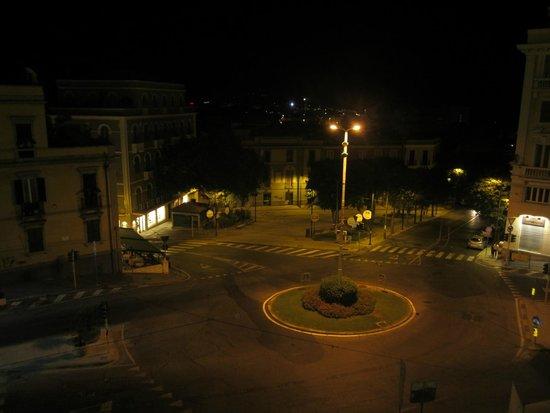 Bastione di Saint Remy: vista piazza costituzione