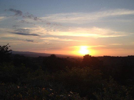 Bosco ai Marzi: Un tramonto da favola!!!
