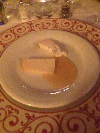 Casa Portagioia: Pecorino mit Honig nach dem Dessert