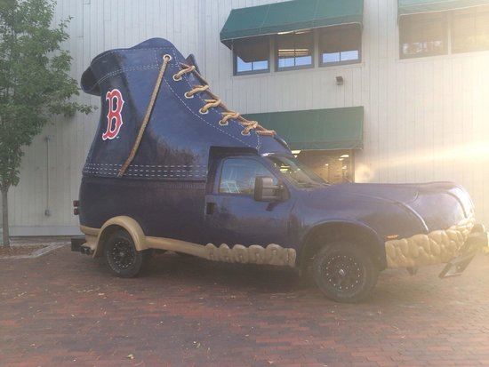 L.L. Bean Factory Store: Any Red Sox fan would love this