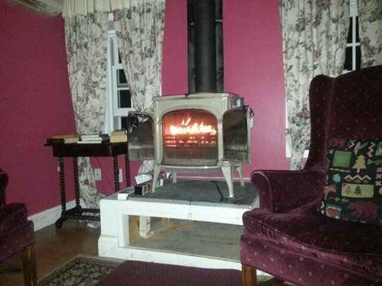Pig Hill Inn: Good fire going on a cold night