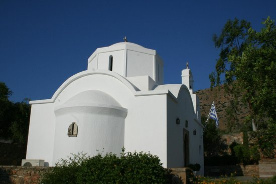 Elounda Mare Relais & Chateaux hotel: The chapel.