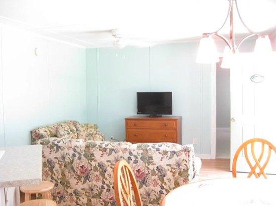 Core Creek Lodge: Living area Room 24